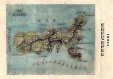 iSOLA D'eLBA - Lotto di 2 incisioni d'epoca . FINE 1800