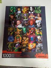 Aquarius Marvel Villians 1000 Piece Jigsaw Puzzle Excellent Condition