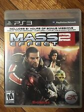 Mass Effect 2 PS3 (Sony Playstation 3, 2011) Complete