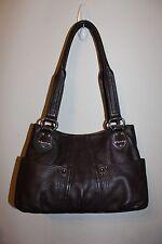 Tignanello Medium Brown Leather Shoulder Bag