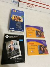 Epson PictureMate Print Pack T557 & Kodak Picture Paper Lot Of 155 - ALL EXPIRED