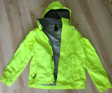 Original THE NORTH FACE-Junioren-Jacke_Kapuze_Signal-gelb-grün_Gr. L/G (14/16)
