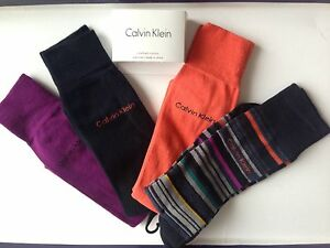 Calvin Klein Men Dress Socks *Match Your Tie* shoe size 7-12