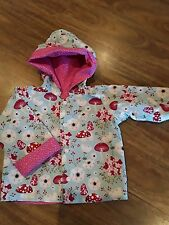 handmade baby jacket -reversible - size 18 - 24 months Girls