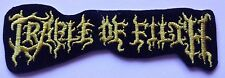 CRADLE OF FILTH Embroidered Rock Band Iron On or Sew On Patch Patches