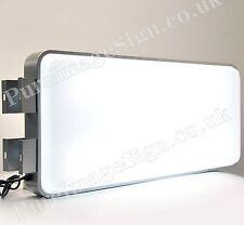 "LED 45x100cm 18""x40"" outdoor 2 Sided Illuminated projecting light box sign"