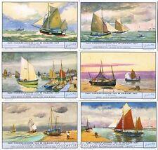 Chromo Liebig Sang. 1583 FIA Antichi Battelli da Pesca a Vela ANNO 1954