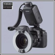 Yongnuo YN-14EX TTL Macro Ring Flash Light  for Canon DSLR with 4 Adapter Rings