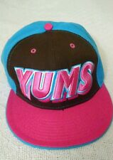 New Era Bold YUMS Pink Blue Brown Snapback Style *Very good condition*