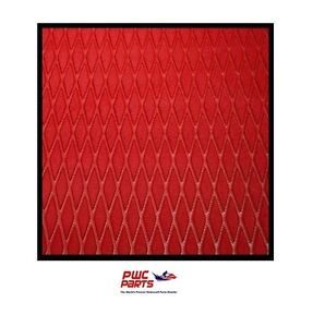 """HYDRO TURF Traction Mat Roll - Molded Diamond - Red 40"""" x 62"""" - w/ 3M Adhesive"""