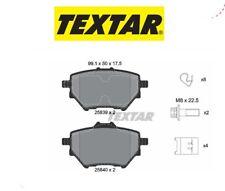 2583901 Kit pastiglie freno a disco post.Citroen-Peugeot (MARCA-TEXTAR)