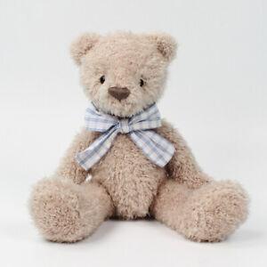 "11.8"" Brown Plush Doll Teddy Bear Stuffed Animal Toy Birthday Valentines Gift"