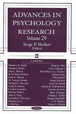 Los avances en Psicología Investigación: 29-Nuevo Libro