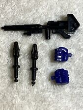 Transformers G1 Vintage Part Lot Optimus Prime Gun 2 Missiles Left Right Fist