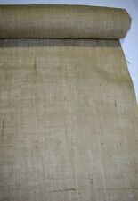 """72"""" Wide Standard 8 Oz Burlap By The Yard Natural Jute Upholstery Hessian Fabric"""
