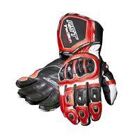 RST TRACTECH EVO Rouge Moto CE cuir Gants de sport