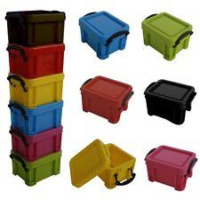 "12 Stück Aufbewahrungsboxen ""Mini"" stapelbar Box Aufbewahrung Boxen Plastikboxen"