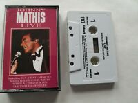 Johnny Mathis - Live In Concert Cassette Tape Fly Away & When A Child Is Born
