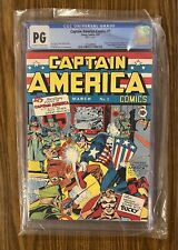 CAPTAIN AMERICA COMICS #1 ~ Page 21 CGC NG - 1st App Captain America, 1941 🔥 🔑
