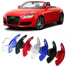 Alloy Steering Wheel DSG Paddle Extension Shifters Cover Fit For Audi TT 2008-14