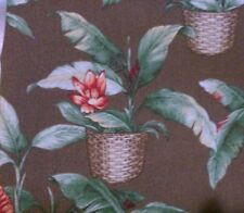 "Upholstery Weight Palm Print Fabric 51"" x 142"""