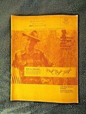 RARE ORIGINAL, VINTAGE 1975 FRED BEAR ARCHERY CATALOG BOW & ARROW SUPPLIES