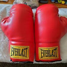 Vintage Everlast 12 Oz Boxing Gloves (Red)