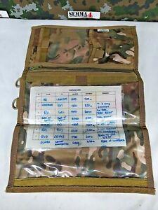 Highlander Pro-Force HMTC Camo Explorer Map Case British Army Military Surplus