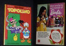 ***TOPOLINO N. 881*** 15 OTTOBRE 1972 - CON BOLLINO