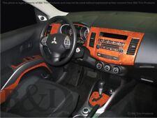 Dash Trim Kit for MITSUBISHI OUTLANDER 08 09 10 11 12 13 carbon fiber wood alumi