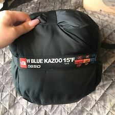Womans The North Face Blue Kazoo 3 season 650 Down Sleeping Bag 15F