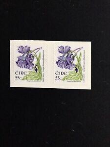 ireland. 2007. SG1697a X 2. Butterwort.  From Booklet SB135. 23 X29mm.
