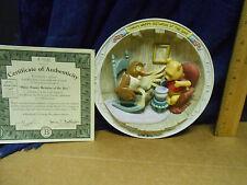 "1995 Bradford Exchange ""Winnie the Pooh"" Many Happy Returns of the Day"" Disney"
