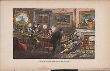 """""""Lift Me Up...""""  c.1874  Henry Alken Hand Coloured Costume HL2.828"""