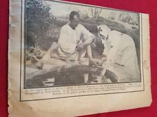 m12l ephemera 1914 picture ww1 red cross nurse bathes servian wounded
