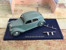 Voiture Miniature Tintin au Pays de L'or Noir Lancia au 1/43