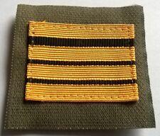 FRANCE: Galon militaire de poitrine grade COMMANDANT.