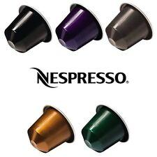 100 Capsule Nespresso Originali a Scelta, 10 confezioni da 10 capsule a scelta