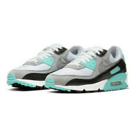 Nike Air Max 90 UK 7 White Particle Grey Hyper Turquoise CD0881-100