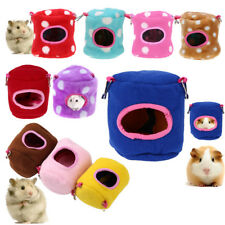 Winter Hammock for Hamster Rat Parrot Ferret Squirrel Small Pet Hanging Bed Cage