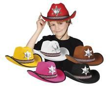 Cowboy Wilder Westen Western Hut Kinder Sheriffhut Kostüm Cowboyhut Cowboykostüm