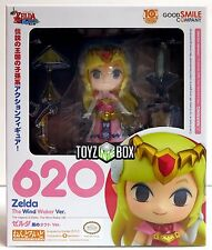 "In STOCK Good Smile Legend of ""Zelda"" Wind Waker Nendoroid 620 Action Figure"