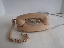 Western Electric Tan color Princess Table Telephone Vintage Phone 702B