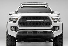 1PC ZROADZ SERIES BLACK GRILLE W/LED LIGHT BAR T-REX FIT 2016 2017 TOYOTA TACOMA