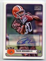 2012 Topps Magic TRAVIS BENJAMIN Rookie Card RC AUTO AUTOGRAPH #39 Browns 49ers