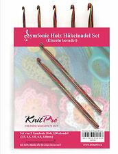 KnitPro Crochet en Set 20716 1 côté bois SYMFONIE