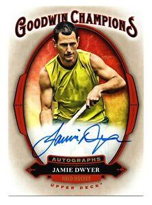 2020 Goodwin Champions Autograph Jamie Dwyer Olympic Field Hockey Australia