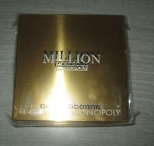 MONOPOLY Limited Edition PACO RABANNE MILLION MONOPOLY Hasbro Game *NEW SEALED*