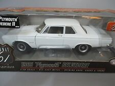 MIB!! 1965 PLYMOUTH BELVEDERE II DIECAST CAR-HIGHWAY 61 1:18 SCALE # 50596