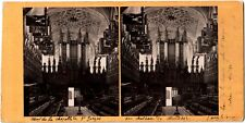 England.Windsor Castle.St George's Chapel.Photo Stereoview Alb.Stereo G.W.Wilson